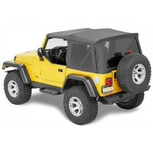 Bestop 54720 15 Soft Top For 97 2006 Jeep Wrangler tj
