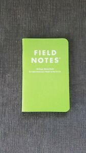 Field Notes 503 Single