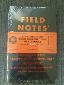 Field Notes Standard Issue Pretty Much Everything Sealed Pack 366