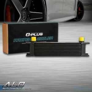 10 Row An 10 Universal Full Aluminum Transmission Racing Engine Oil Cooler