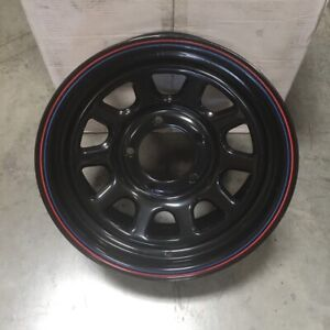 Used 16x7 American Racing Ar7 5x139 7 5x5 5 0 Black Wheel 1