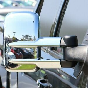 For Chevy Silverado 2500 Hd 2007 2013 Tfp Chrome Towing Mirror Covers