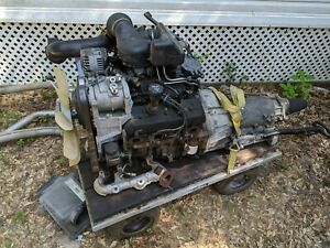 Complete Good Running 2002 Vortec 4 3 V6 Engine And 4l60e Transmission And Extra