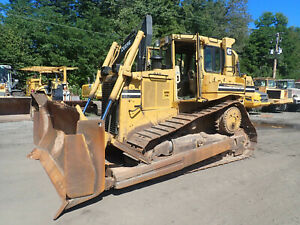 1993 Caterpillar D6h Series Ii Crawler Dozer Clean Bulldozer Tractor Cat D6h Xl