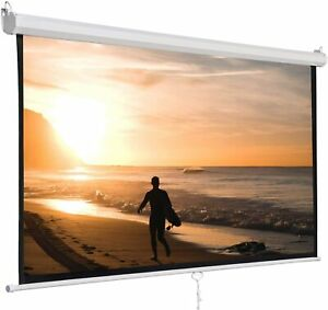 5 Core Pull Down Projector Projection Screen 72 Inch 8k 3d Ultra Hd 4 3 M 72