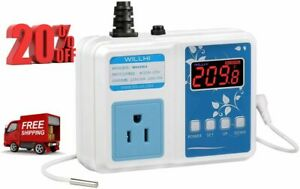 Willhi Wh1436a Temperature Controller 110v Digital Thermostat Switch Sous Vide