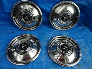 1967 67 1968 68 Dodge Dart Hubcap 13 Wheel Covers Hub Caps Oem Used 312 Set 4