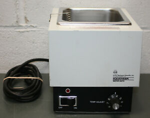 Coulter Cms Equatherm Water Bath B6557 77 To 212 F 120v Ac Tabletop