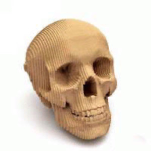 Dxf Cdr Svg Laser Cutting Files Plan For Cnc skull