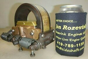 Webster K Brass Body Low Tension Magneto Hit Miss Gas Engine Very Hot No 1353