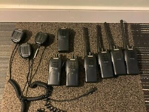 Lot Of 7 Hyt Tc700 Ex Plustwo Way Radio Vhf 16 Ch