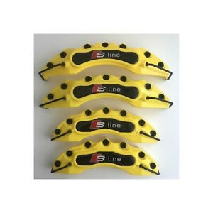 Tuning S Line Audi 4 Yellow Brake Caliper Covers Universal A1 A4 A5 A6 A8 S Rs