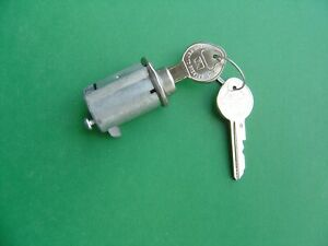 1961 1962 1963 1964 Corvair Glove Box Lock 2 Original Gm Pearhead Keys new