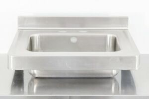 Used 22 Stainless Steel Hand Sink 560013