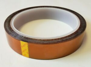 Kapton Tape Heat Resistant Insulating 19mm X 33m 100ft Polymide