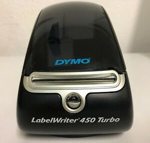 Dymo Label Printer Labelwriter 450 Turbo Direct Thermal Label Printer Used
