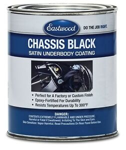 Eastwood Original Chassis Black Paint Gal Satin Uv Corrosion Chips Resistant