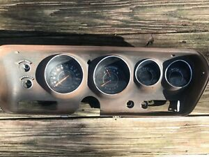 71 72 73 74 Charger Roadrunner Rallye Dash