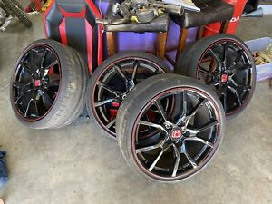 Oem Honda Civic Type R 20 Four Wheels With Tires 2017 2021 Civic Type R