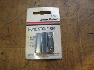 Blue point For Snap on Cf63 1 Brake Cylinder Medium Grit Hone Stone Set a6