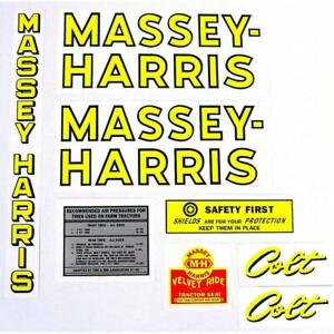 R1355 Decal Set Fits Massey harris