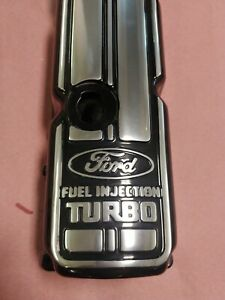 Thunderbird Turbo Coupe Mustang Svo Merkur 2 3l Valve Cover Powdered Polished