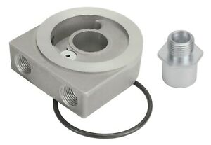 Derale 25772 Oil Filter Adapter Sandwich W Low Profile Thermostatic