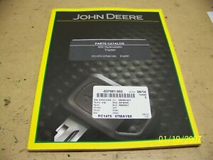 John Deere 400 Lawn Garden Hydrostatic Tractor Parts Catalog Manual Pc1475