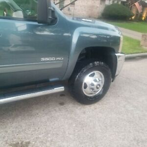 17 Chevy Silverado Sierra 3500 Dually Rims Wheels And New Tires