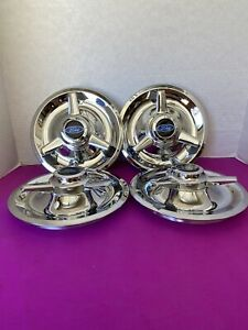 4 Spinners Center Caps For Cragar American Racing Smoothie Wheels 7 5 Ford