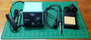 New Weller Wes51 Analog Soldering Station With Pes51 Iron And Stand