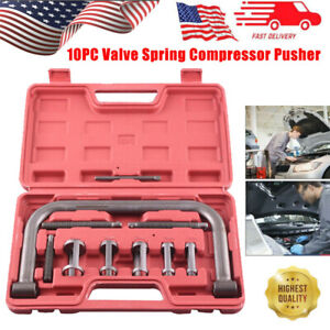 10pcs Valve Spring Compressor C clamp Service Kit Automotive Tool Motorcycle Atv