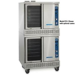 Imperial Icvde 2 Electric Double Bakery Depth Convection Oven