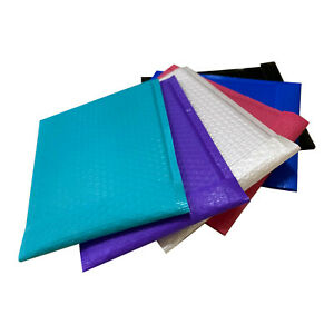 6x10 0 Poly Bubble Mailers 6x9 Shipping Mailing Padded Bags Envelopes Any Color