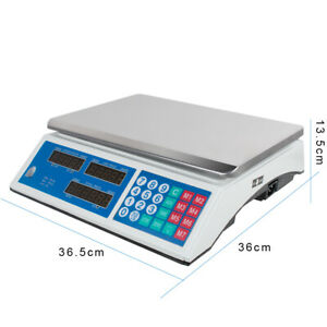 66lbs Market Weight Scale Price Computing Retail Food Meat Scales Count Scale Us