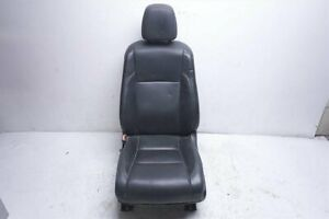 2014 2016 Toyota Highlander Front Driver Black Leather Seat Heated And Cooled