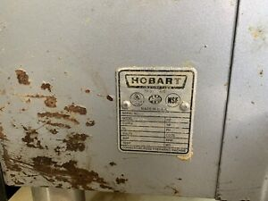 Hobart 4732 Large Meat Grinder