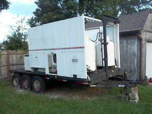 Onan 47kw Generator And Trailer