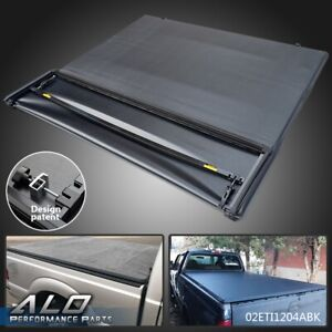 Lock Four Fold Tonneau Cover For 1999 2017 Ford F250 F350 F450 6 8ft Short Bed