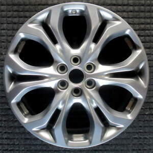 Buick Enclave Hyper Silver 20 Inch Oem Wheel 2018 To 2019