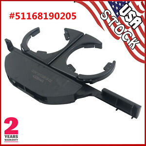 Console Retractable Drink Cup Holder Black Lhd For Bmw E39 525i 528i 530i 540i