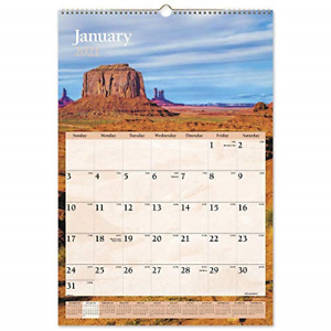 2021 Wall Calendar By At a glance 15 1 2 X 22 3 4 Large Monthly Scenic