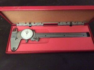 Scherr Tumico Industries Precision Dial Caliper 0 6 Range 001 Graduation