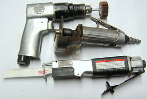 Central Pneumatic Air Tool Lot Used