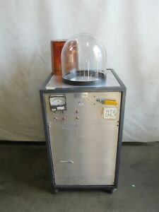 Vacuum Chamber Pump Pyrex Bell Jar Duo Seal Pump 1 2hp 1 Phase Tested D8938