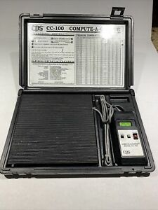 Cps Cc100 Compute A Charge Hvac Refrigerant Scale freon Scale Used c