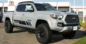 Toyota Tacoma 2016 Trd Sport Side Stripe Graphics Decal 2016 To 2020 4x4 Offroad