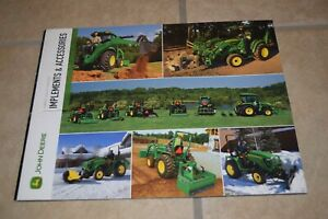 John Deere Implements Accessories For Compact Utility Tractors Sales Brochure