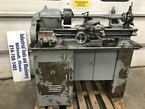 South Bend 9 x24 Metal Lathe With Tooling On Original Base 110volt