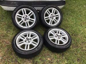 2002 2015 16 Mini Cooper Clubman Wheels Rims Tires Factory Oem Set Tires